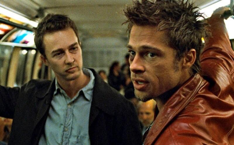 Edward Norton y Brad Pitt dieron vida a dos intensos personajes.