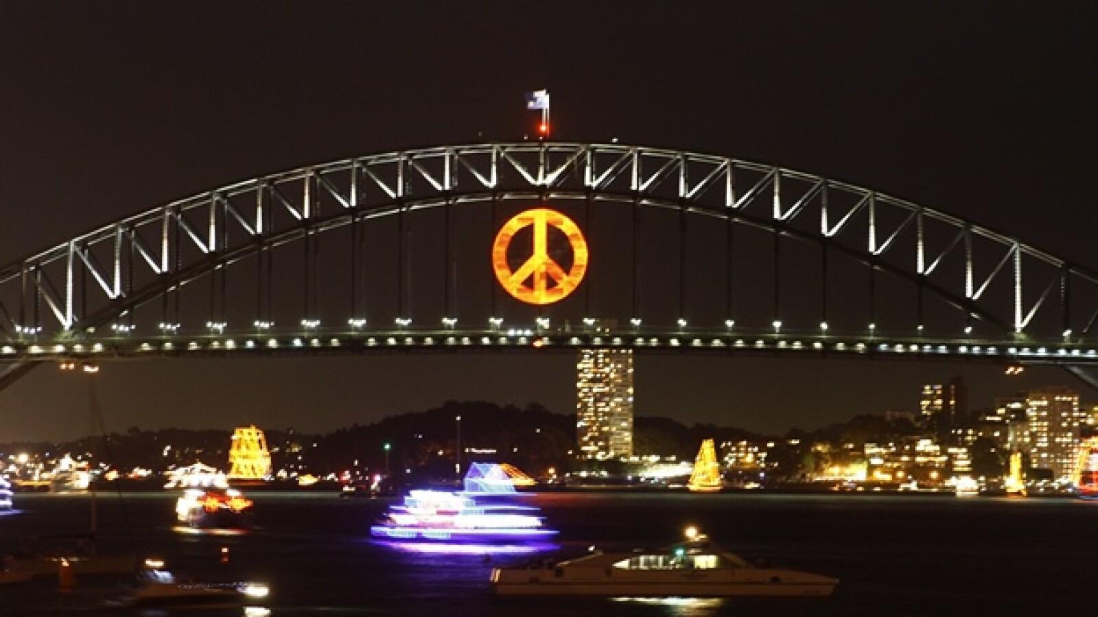 Año Nuevo australia gal