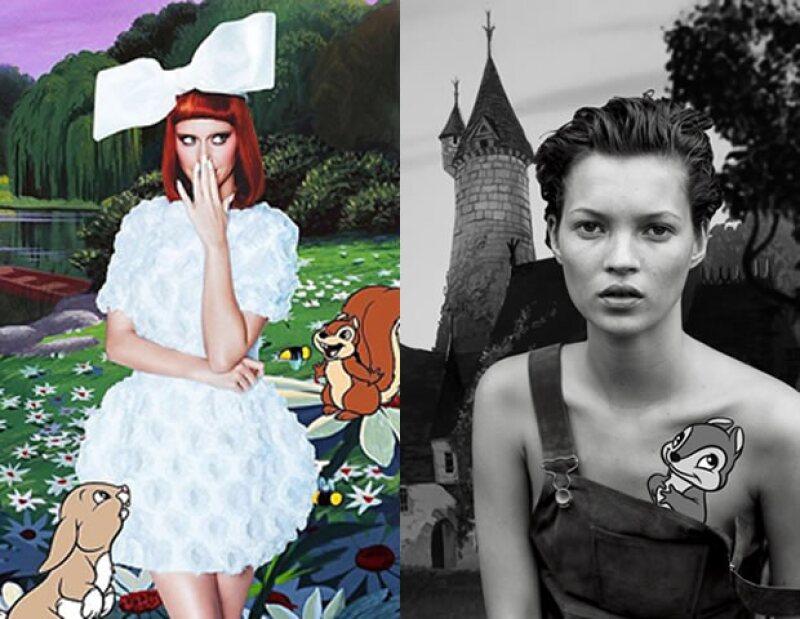Kate Moss y Katy Perry también han trabajado con el artista.