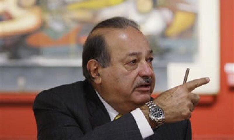 El empresario es el únio accionista con un número significativo de papeles de CaixaBank. (Foto: AP)