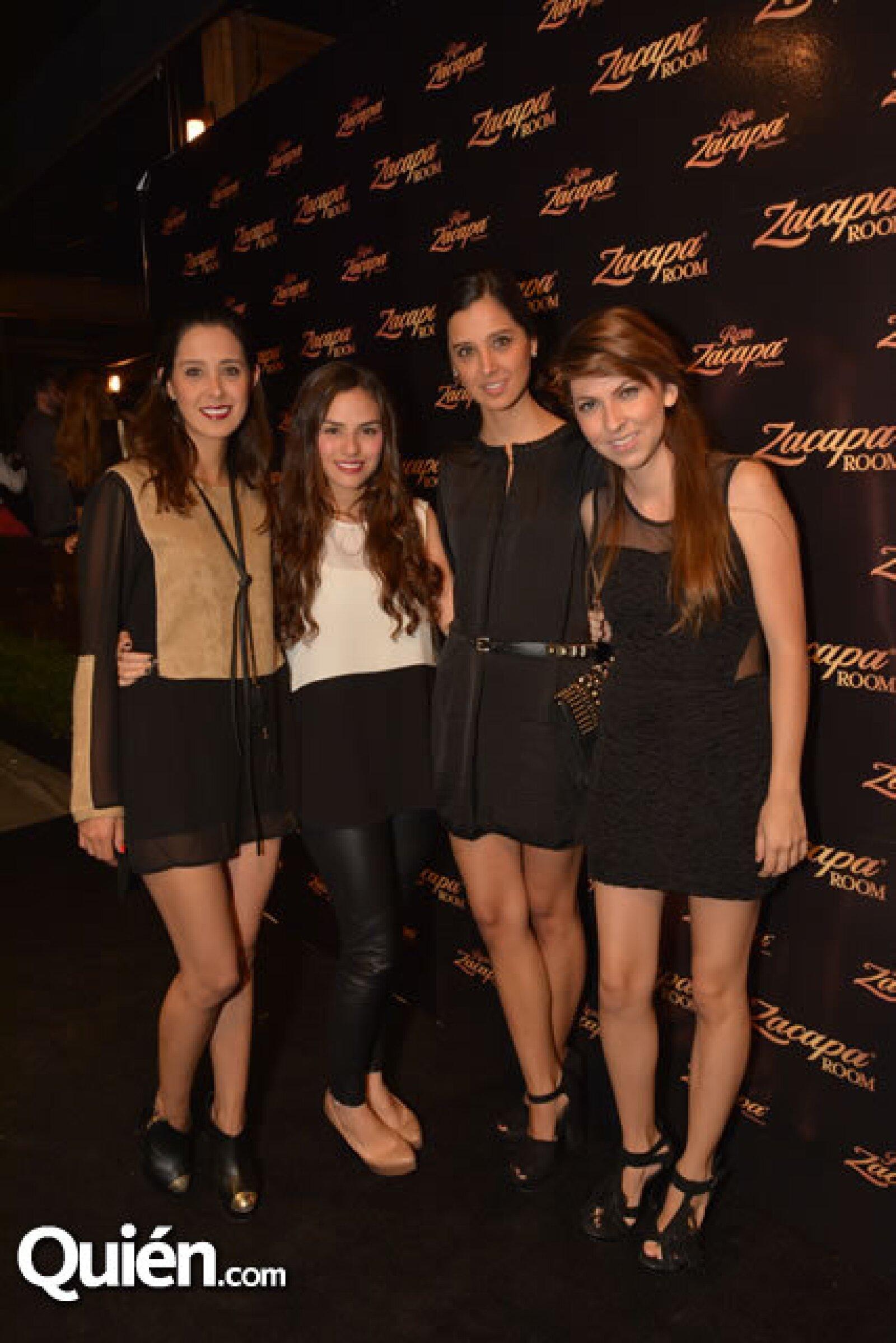 Diana Cerda,Linett Ramírez,Brenda Verdiz,Martha Cerda.
