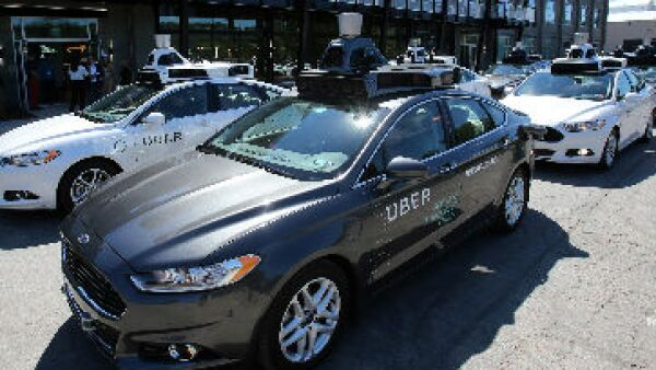 taxi Uber de Ford