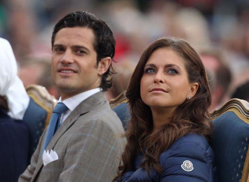 Los hermanos Madeleine y Carl Philip también son beneficiarios de la fortuna sueca.