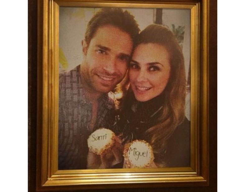 Aracely Arámbula y Sebastián Rulli celebraron los cumpleaños de sus hijos Miguel y Santiago