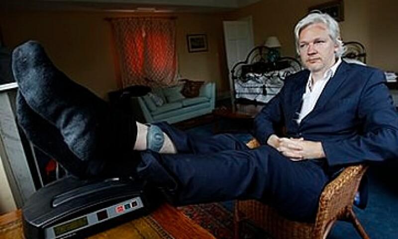 Assange se encuentra actualmente recluído en una casa en la localidad de Bungay, Inglaterra. (Foto: AP)