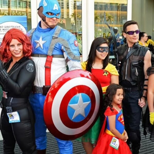 comic con, entretenimiento, heroes, comics, familia