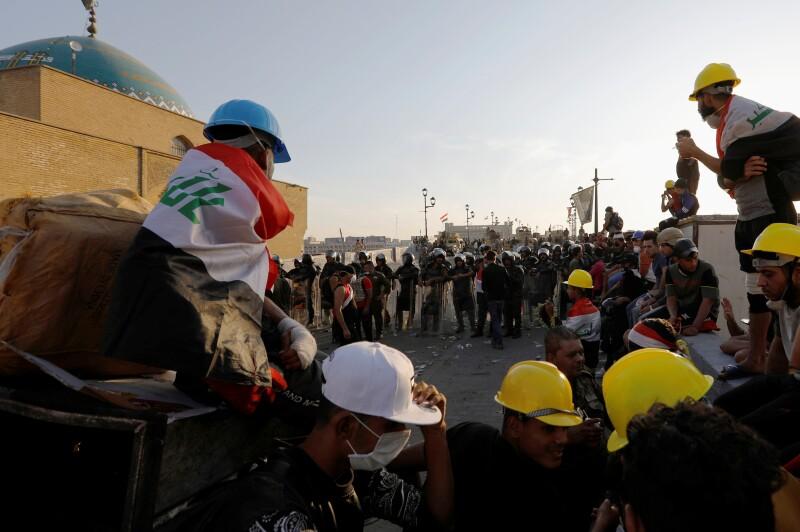 Protestas en Iraq