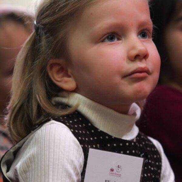La princesa Elisabeth de Bélgica con tan solo 12 años tiene una agenda bastante activa
