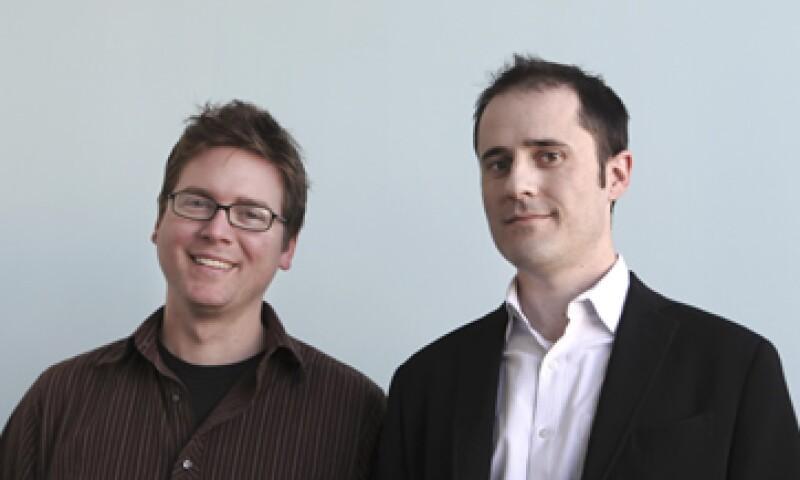 Tanto Evan Williams como Biz Stone dejaron sus cargos en Twitter para lanzar Obvious, su sitio web. (Foto: AP)
