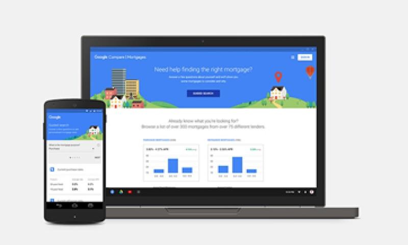 Para este proyecto, Google se unió a prestamistas locales y nacionales de EU, como Zillow y Lending Tree. (Foto: Google)