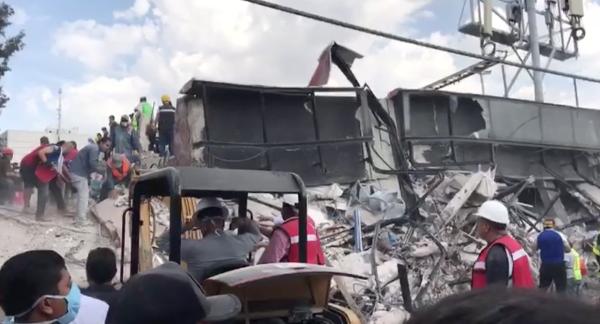 Escuela primaria de la colonia Obrera fue arrasada por sismo