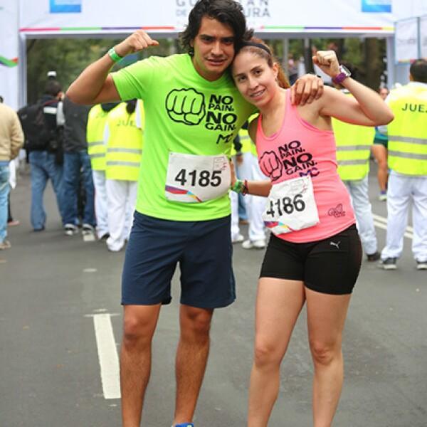 Salvador Sánchez y Mari Carmen Costa