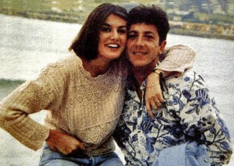 En la imagen se aprecia a Letizia con su primer esposo, Alonso Guerrero Pérez.