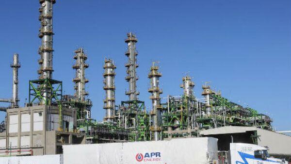 Importaci�n de turbogeneradores en la refiner�a de Salina Cruz