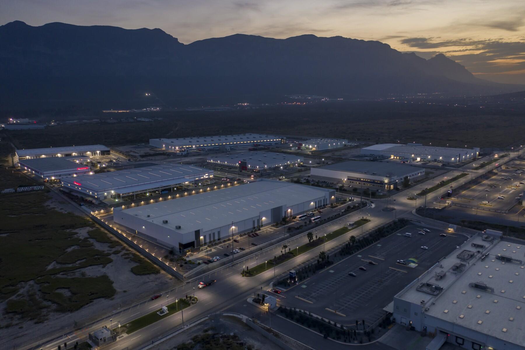 El parque industrial Santa Catarina, en Nuevo León, es uno de los 26 que Finsa ha desarrollado en el país a lo largo de 43 años.