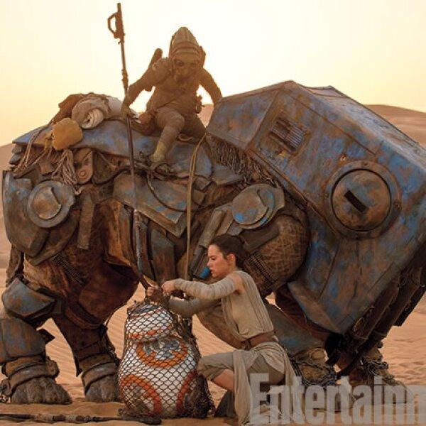 Los sets de la nueva película son impresionantes.