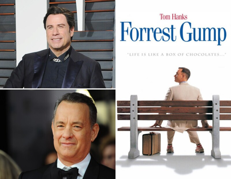 John Travolta rechazó Forrest Gump, película que le otorgó el Oscar a Tom Hanks