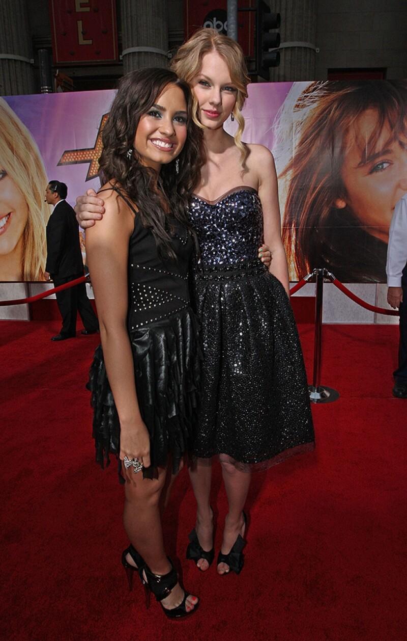 En el pasado, Demi y Taylor se mostraban amigables, sin embargo, los últimos años han surgido diferencias.