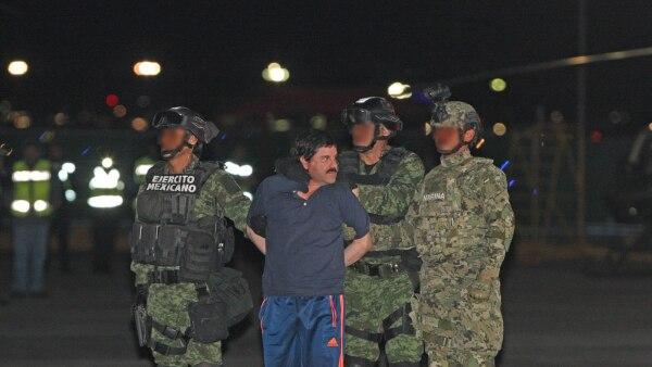 Tras ser notificado por la SRE, el 'Chapo' Guzmán enfrentará un litigio penal para evitar pisar el suelo estadounidense.