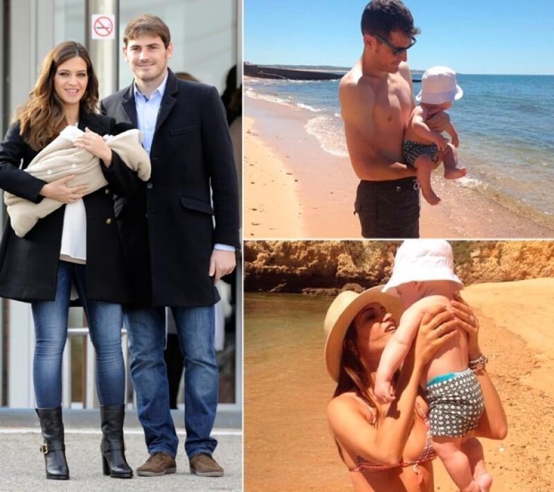 Iker y Sara Carbonero han formado una linda familia, pese a los problemas que el futbolista pueda tener con el Real Madrid.