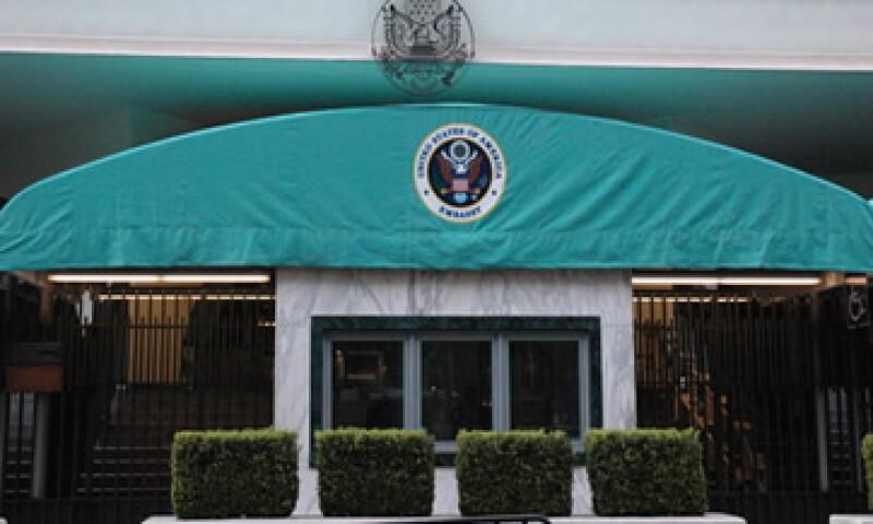 La embajada y los consulados de Tijuana, Nogales, Ciudad Juárez, Guadalajara cerrarán el lunes.  (Foto: Cortesía Embajada de Estados Unidos)