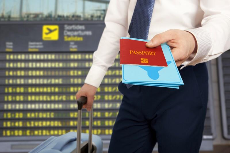 Problema en aeropuertos