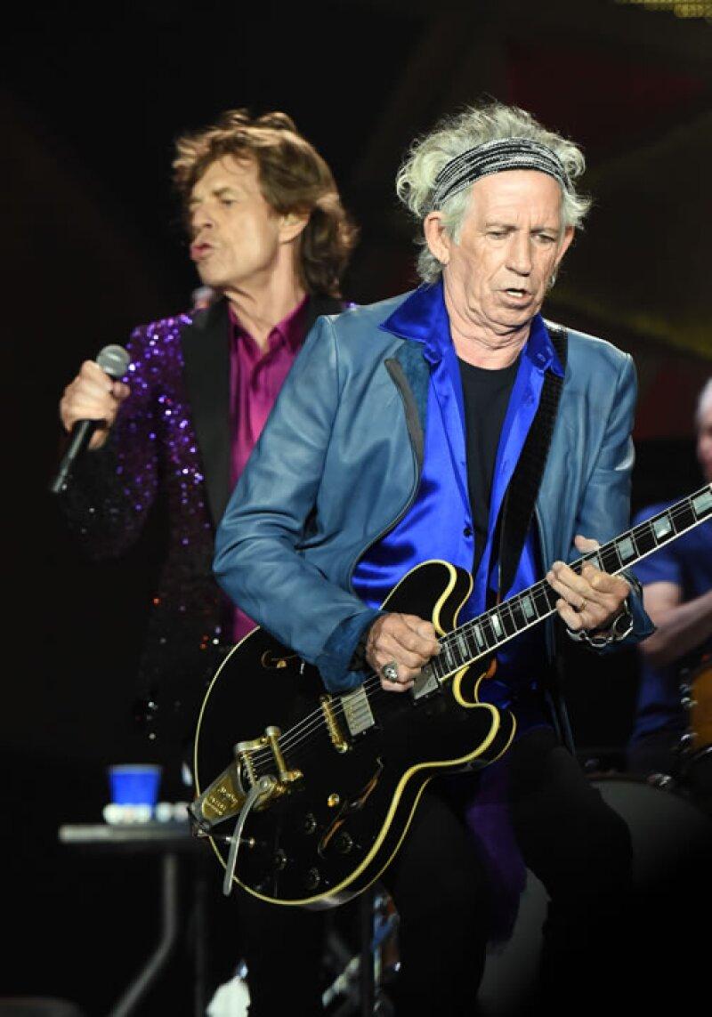 Keith Richards es el guitarrista de The Rolling Stones.