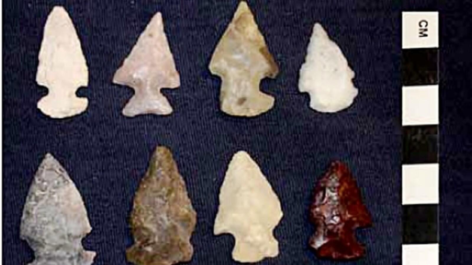 piezas arqueologicas recuperadas