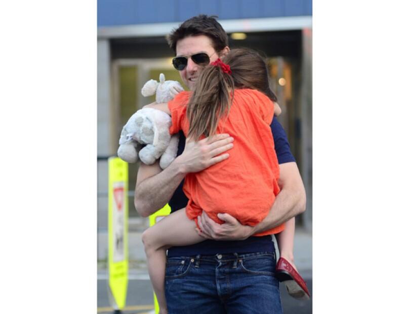 Su papá, Tom Cruise, decidió rentar la habitación de la famosa princesa para que su hija de seis años viviera toda la mágia de Disney.