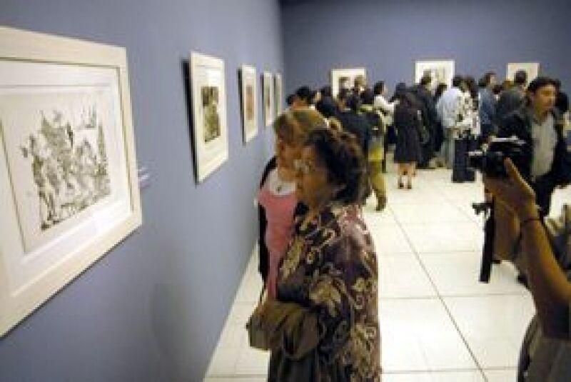 La muestra, llamada La Belleza Múltiple, está conformada por 67 litografías y grabados.