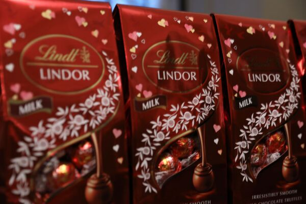 Lindt Chocolate At The Rodarte Fall/Winter 2020 Fashion Show