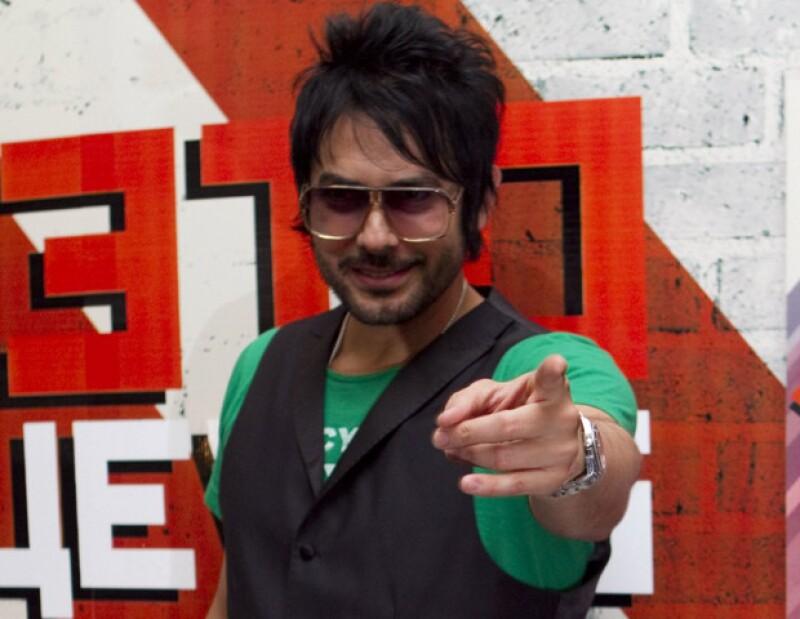 El ex vocalista de la banda `La Ley´ será uno de los jueces de la nueva temporada del reality show musical.