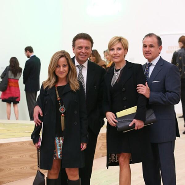 Yuyes Ramírez,Gabriel Gamba,Sara Toca y Ricardo Hernández