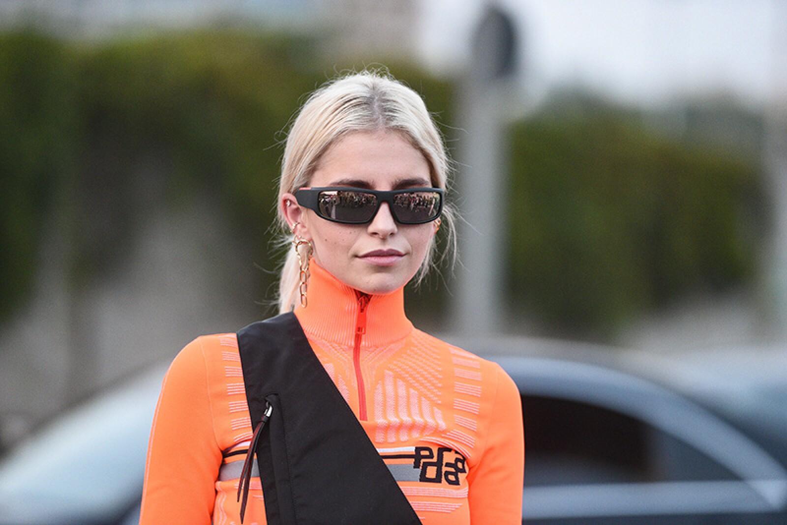 Street Style, Spring Summer 2019, Milan Fashion Week, Italy - 20 Sep 2018
