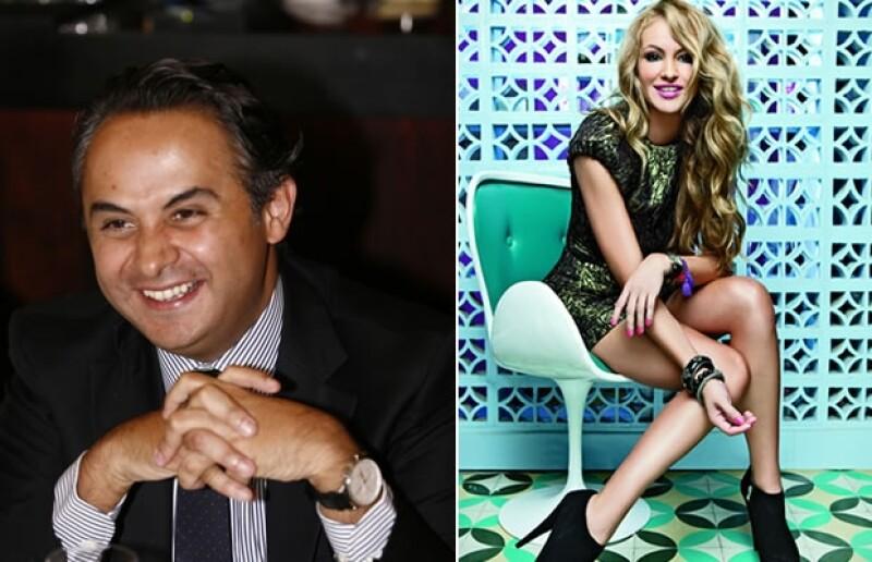 Enrique y Paulina Rubio