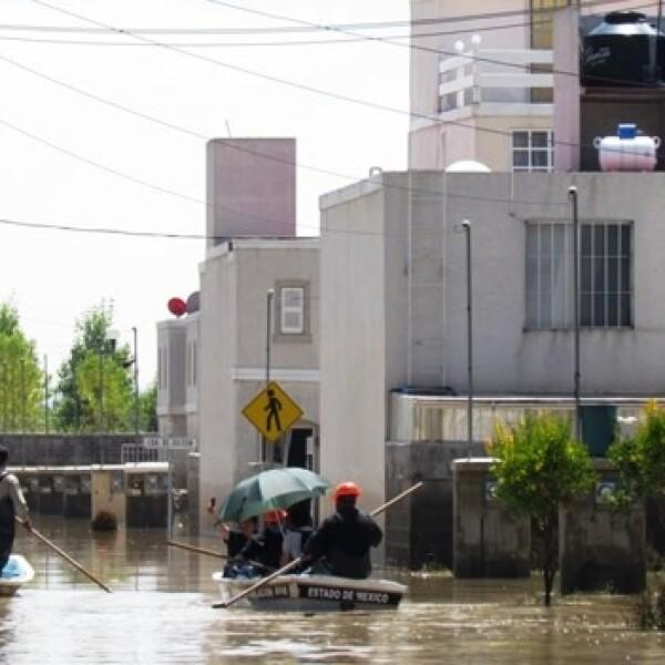 inundación edomex
