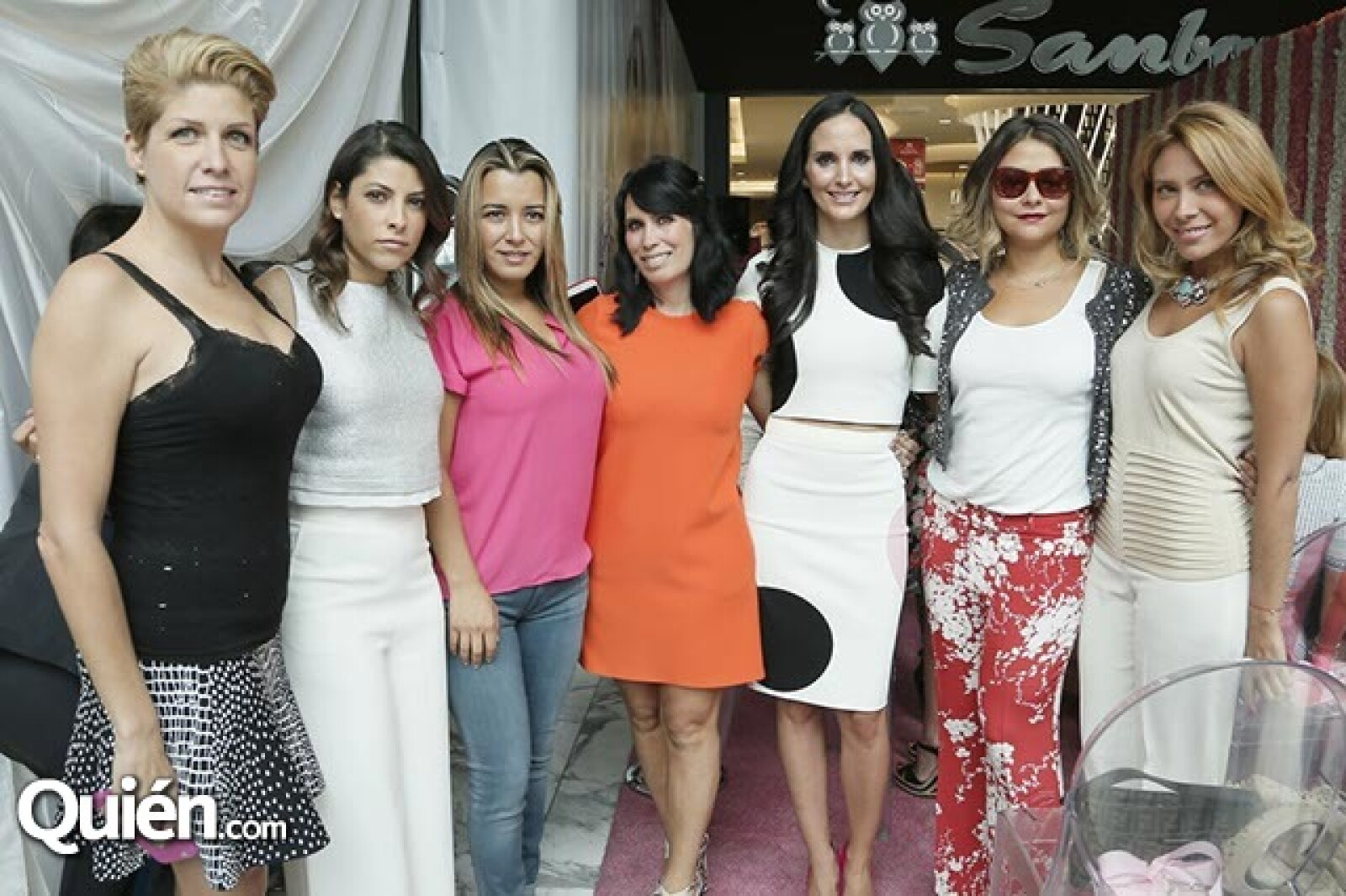 Paulina Díaz Ordaz,Sylvana Beltrones,Zsa Zsa JCorro,Claudia Reta,Valeria López,Alexia Camil y Jimena Gallego