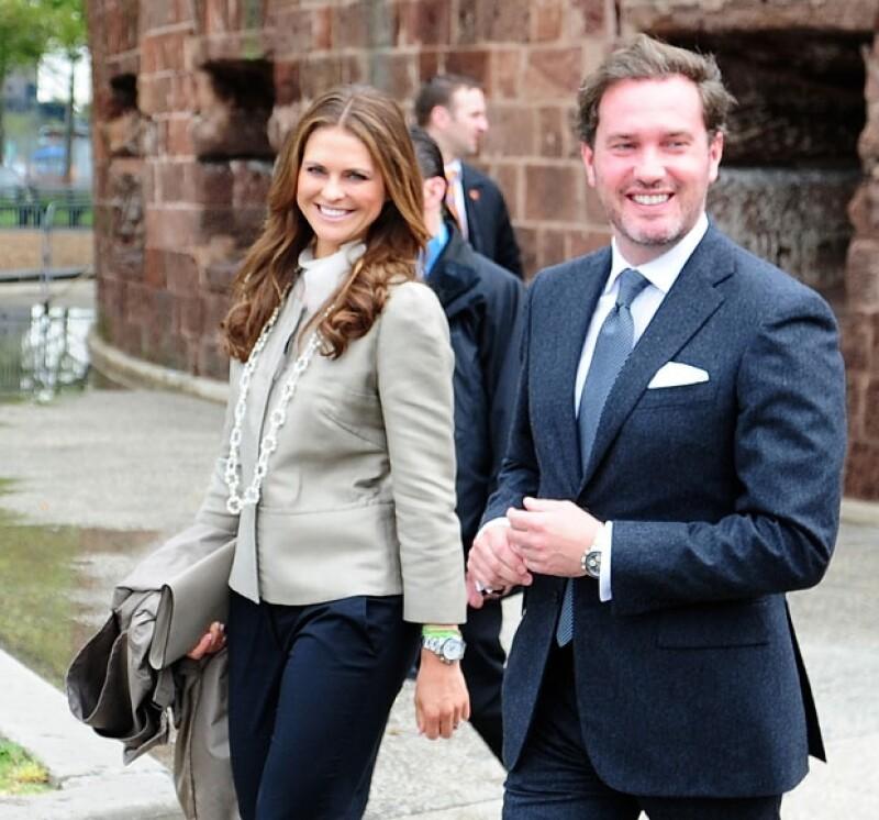 A tres meses de haberse casado con el empresario Chris O´Neil, la princesa dio la buena noticia mediante su Facebook. El primogénito nacerá en marzo de 2014.