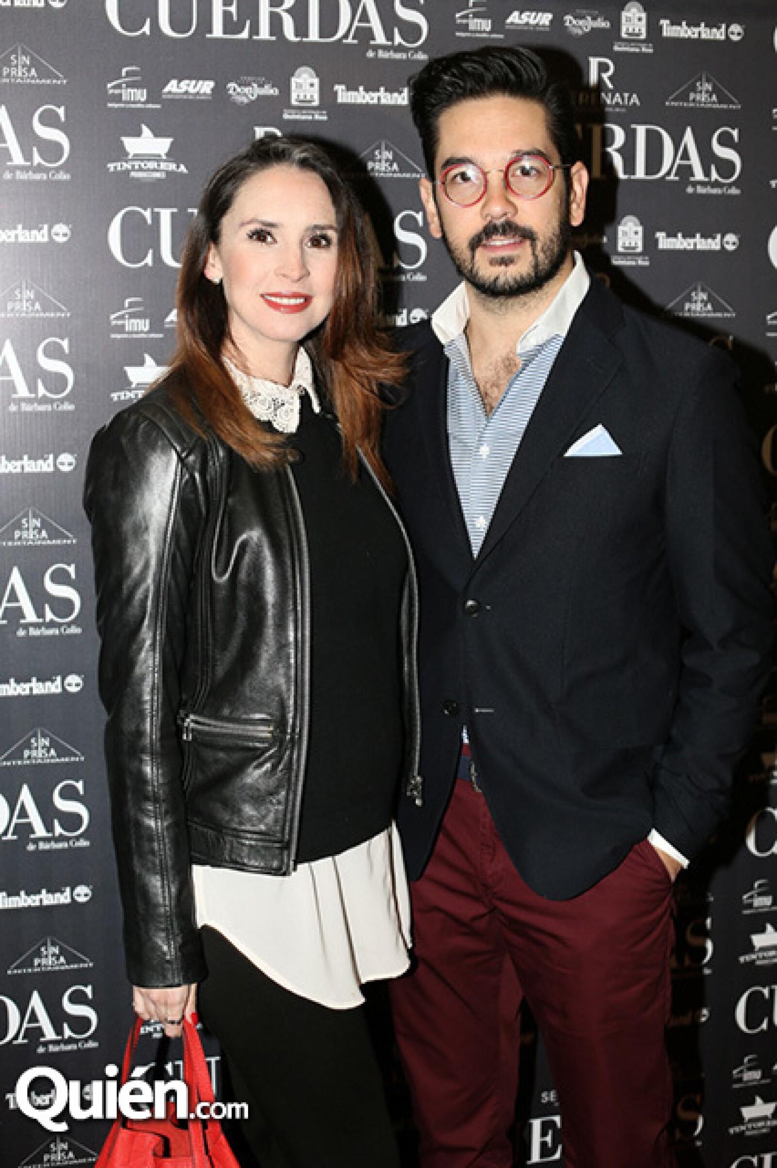 Andrea Torre y Pedro Ortiz de Pinedo