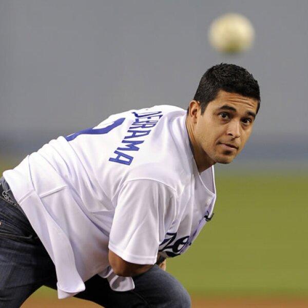 Wilmer Valderrama, a quien conocimos como `Fez´ en `That 70´s Show´, es fanático de los Dodgers de Los Ángeles.