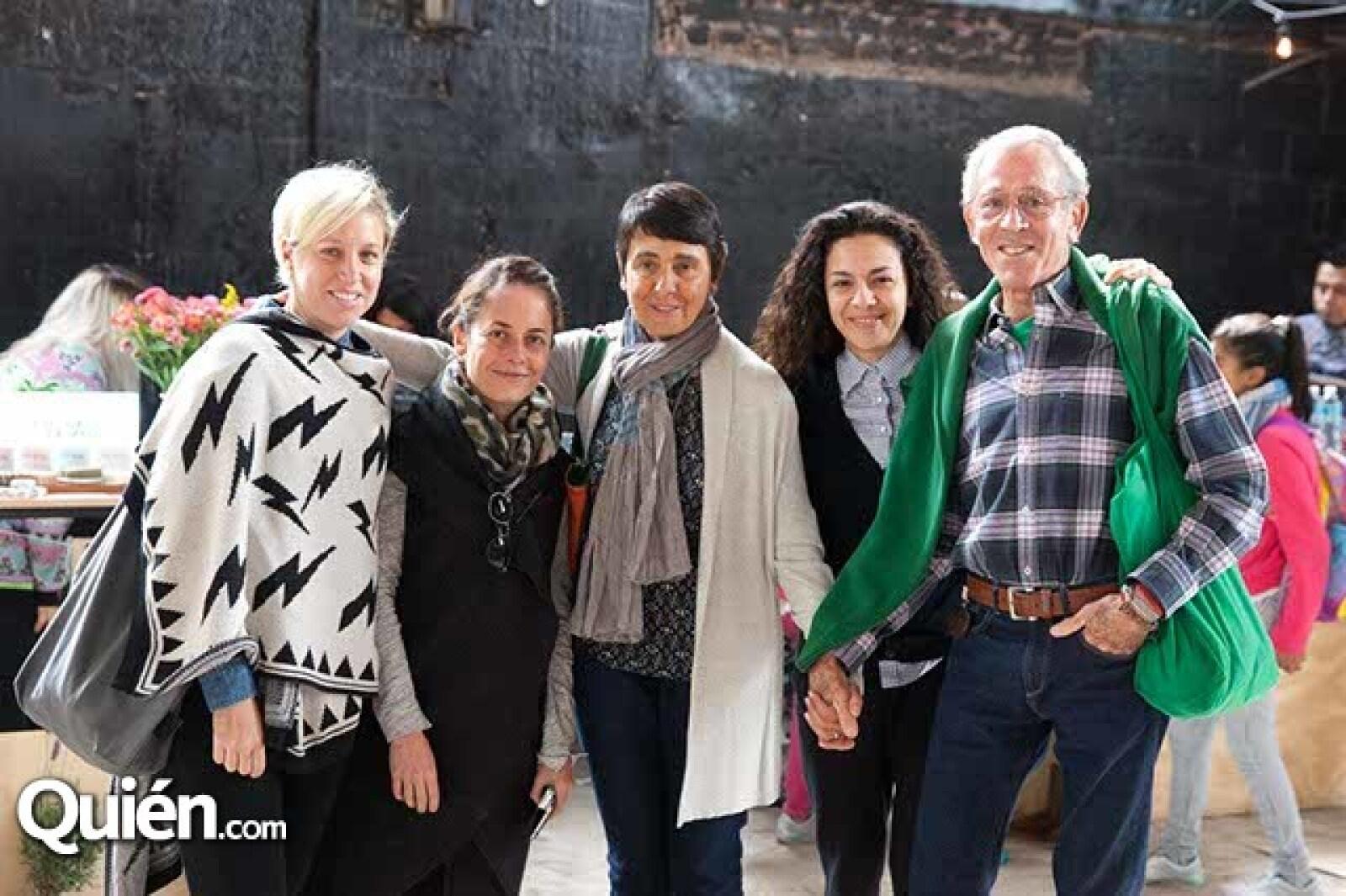 Joana Ruíz-Galindo,Mariana Aguilar,Carmen Casanovas,Carmen Ortega,Enrique López de Moral