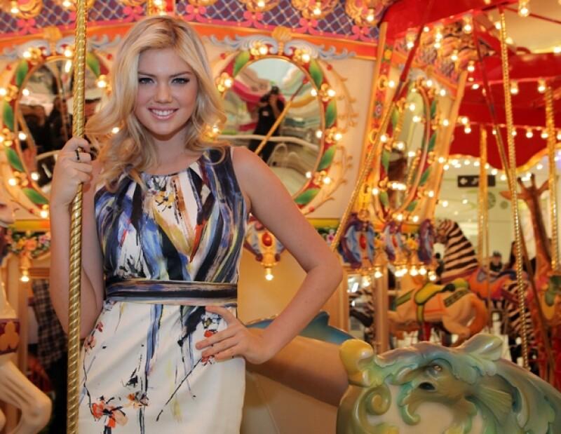 La modelo estadounidense se encuentra en nuestro país con motivo del Fashion Fest Primavera - Verano.