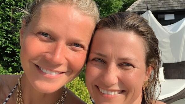 Martha Luisa de Noruega y Gwyneth Paltrow
