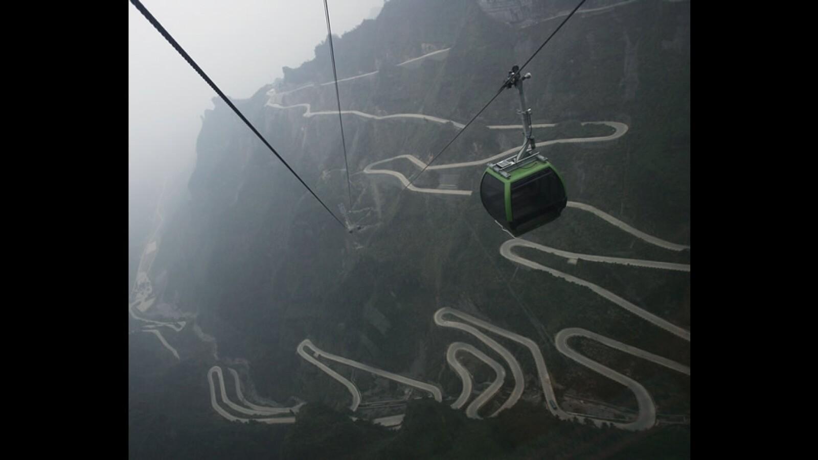 Parque Zhangjiajie infraestructura