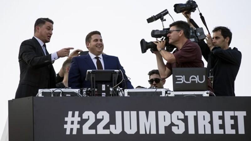 Presentación de la cinta Jump Street