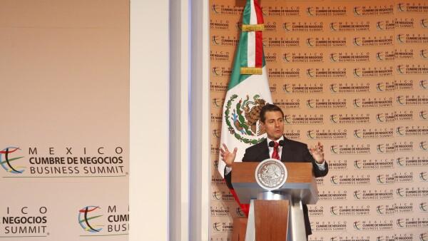 Enrique Peña Nieto 16a Cumbre de Negocios.