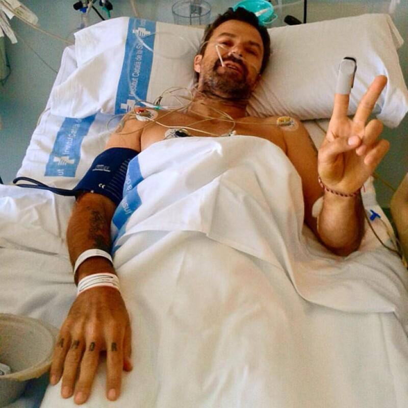 Con optimismo, Pau Donés compartió con sus seguidores su odisea contra el cáncer.