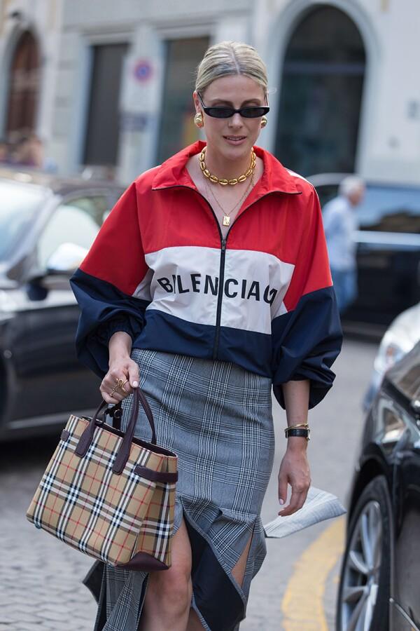 Street Style, Spring Summer 2019, Milan Fashion Week, Italy - 21 Sep 2018