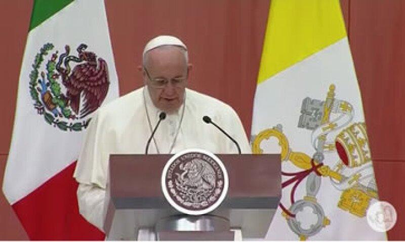 El pontífice pidió un mayor encuentro entre sectores sociales. (Foto: Especial)