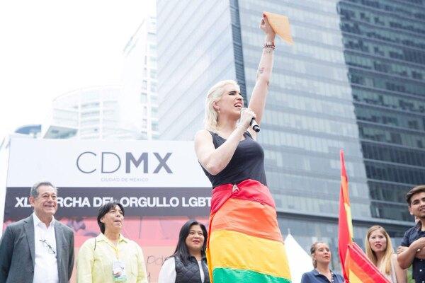 Inaugurando Marcha LGBT 2018